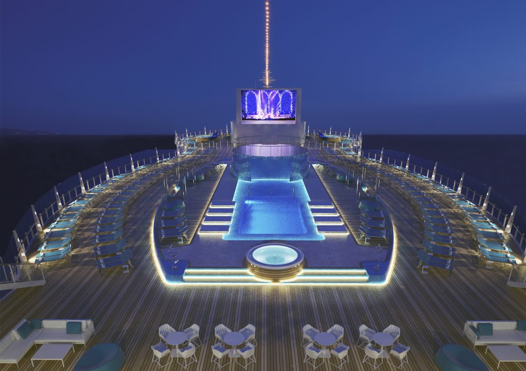 MSC Seaside, upper pool